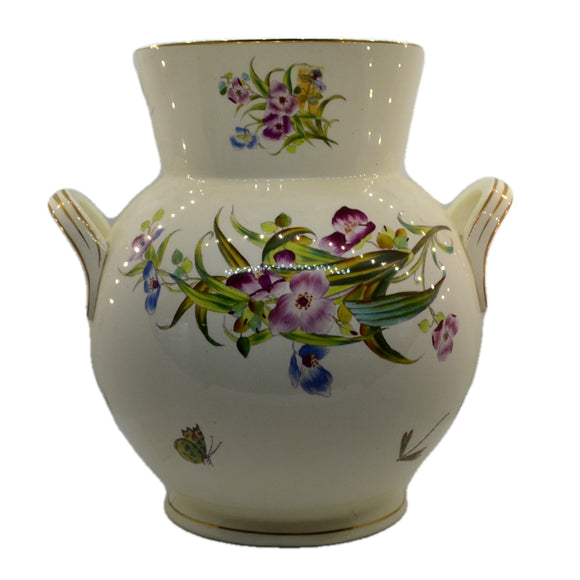 antique floral english china