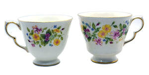 Choosing the right Colclough china replacement tea cup shape.