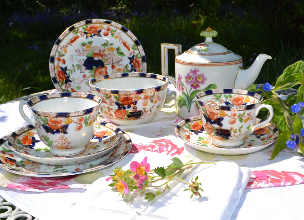 Royal Albion China Tea Set