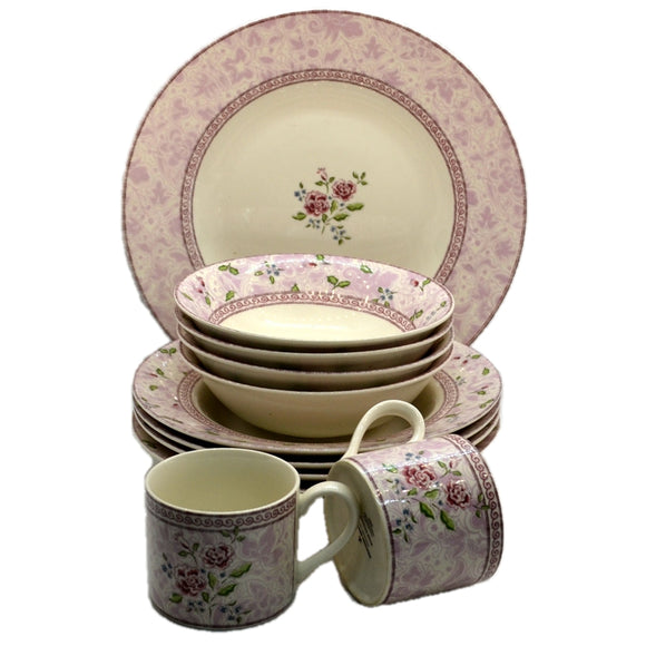Johnson Brothers China Rose Damask