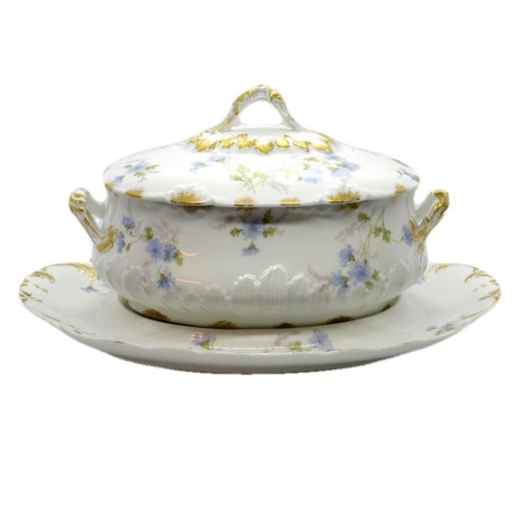Vintage and antique tureens and antique French soupiere