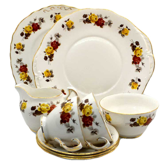 colclough china stratford 8320 pattern