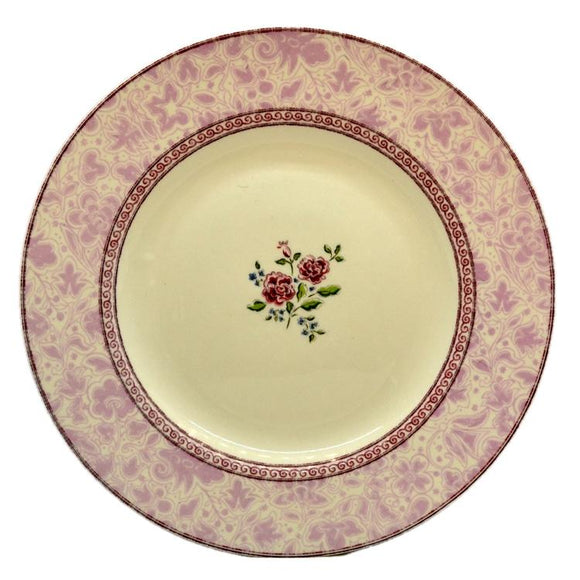 Vintage and antique china dinner plates