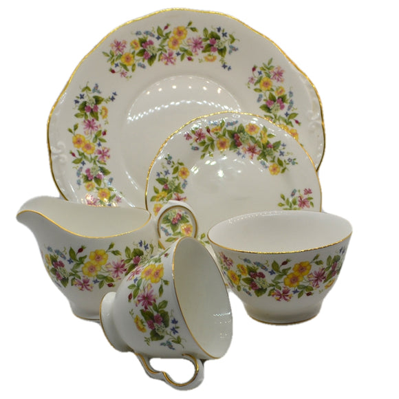 colclough Hedgerow bone china