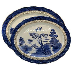 Ye old chinese willow blue and white china
