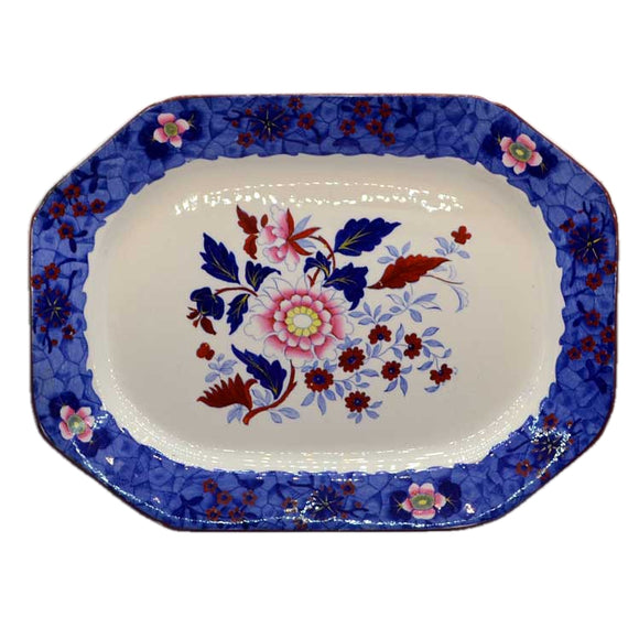 1928 Copeland Spode 6008 Floral China platter 17 Inch