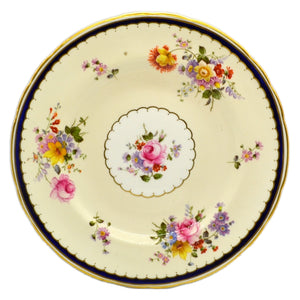 Royal Crown Derby Floral China Matlock 9-inch Plate 1945