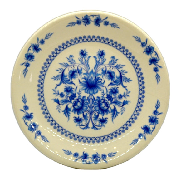 Sado Internacional Blue & White Floral China Dessert Plate