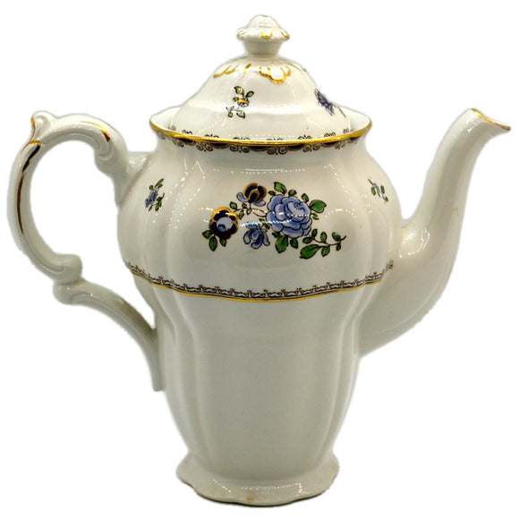 Booths Floral China A8086 Teapot