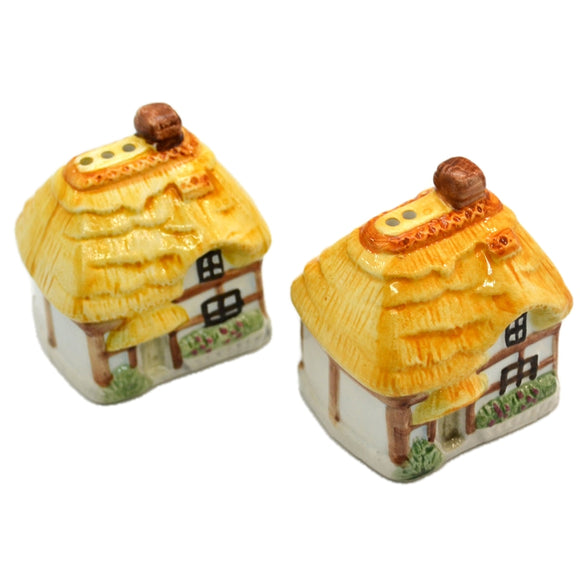 Cottage Ware Salt and Pepper Set