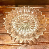 early english pressed glass fruit stand