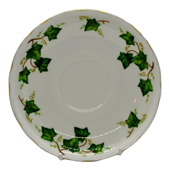 deep breakfast saucer ivy leaf colclough