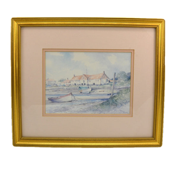 Jason Partner Framed Print of Burnham Ovary Staithe Norfolk