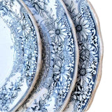 Sterling platters circa 1898 by keeling & Co in Ironstone china