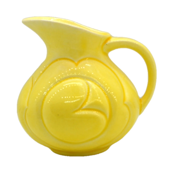 royal art pottery yellow jug