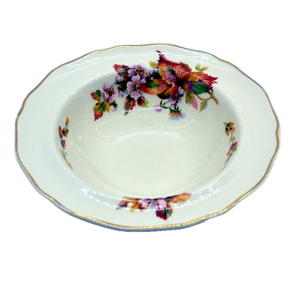Royal Doulton Wilton vintage china dessert bowls