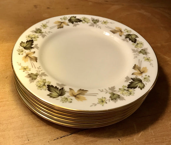 Royal Doulton Larchmont china side plates TC1019