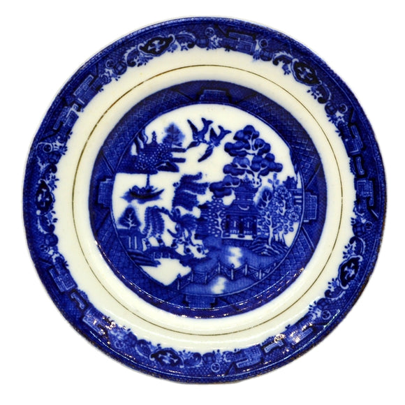 Wildblood Heath & Sons Clifton China Blue Willow side plate