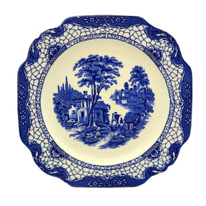 Adama China Landscape side plate