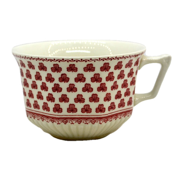 Adams Victoria Red and White China Teacup
