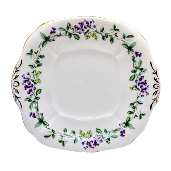 Adderley english lane cake plate