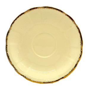 Alfred Meakin Royal Marigold China 6-inch Saucer