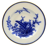 Antique William Adams Fern Adams Blue Soup Dish c1790