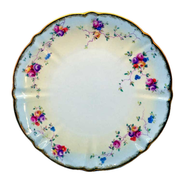 antique aynsley china plate pattern Rd No 169873