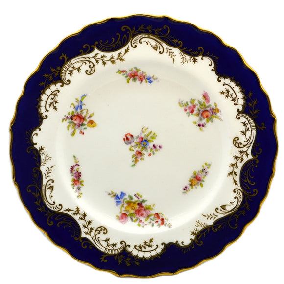Antique Coalport Porcelain China 6698 Plate 1882