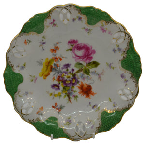 antique continental china plates