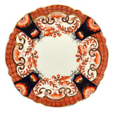Antique Imari Porcelain Floral China Side Plates