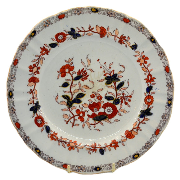 Antique masons ironstone china dinner plate