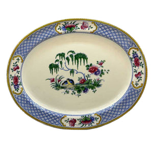Booths Silicon China Chester Rd660099 Oval Platter