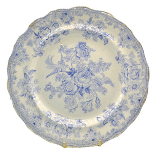 Antique Asiatic pheasants plate