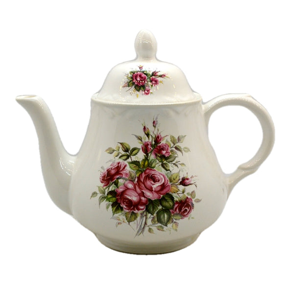 Arthur Wood Vintage Floral China Teapot