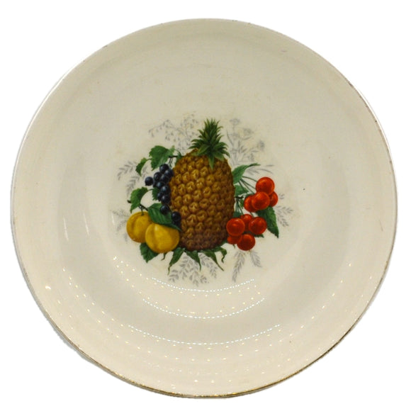 Vintage Ashley Bone China DEE Fruit Bowl