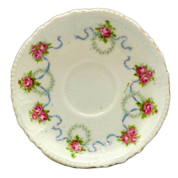 Atlas floral china saucers