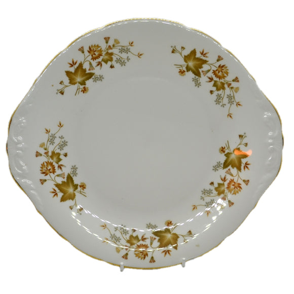 colclough bone china cake plate avon pattern 8656