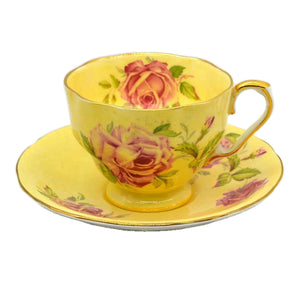 1950's Aynsley china floral tea cup