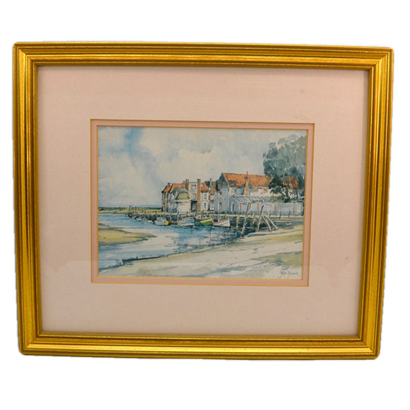 Jason Partner Framed Print of Blakeney Quay Norfolk