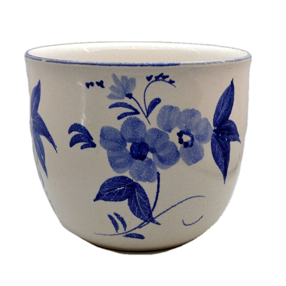 Scheurich Blue and White China Large Jardiniere Planter