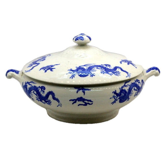 Blue Dragon China Lidded Tureen Pearl Pottery Co 1930-1942