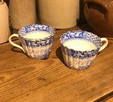 Antique Blue and White Porcelain china cup