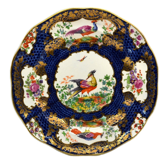 Booths Silicon China Asiatic Pheasant Plate