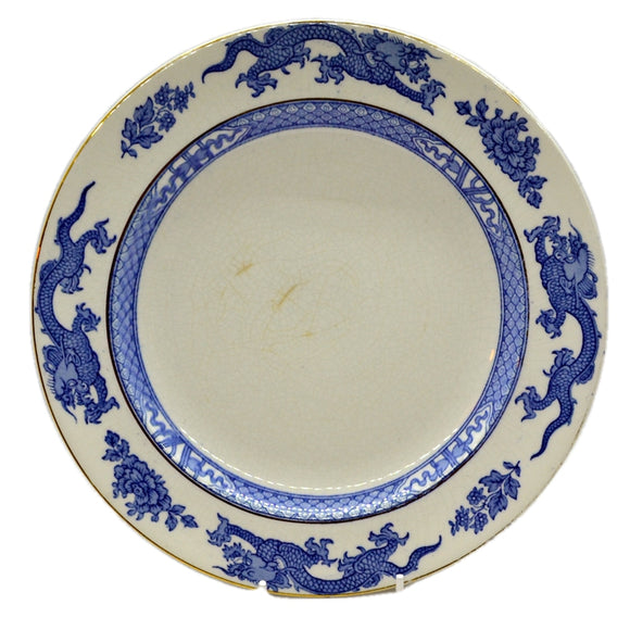 booths blue dragon dinner plate