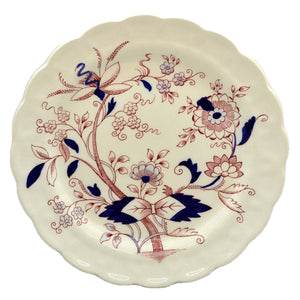 Antique Booths Fresian A8022 8.5-inch China Dessert Plate