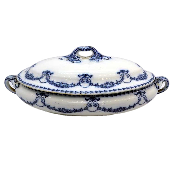 Booths Silicon China tureen Brenda pattern with lid