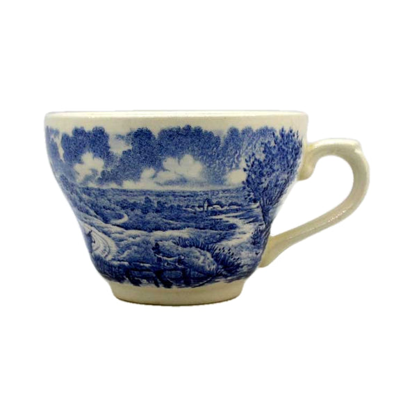 Broadhurst Blue and White China Teacup