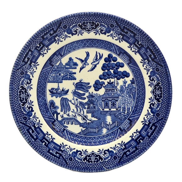 Churchill Blue Willow China side Plate