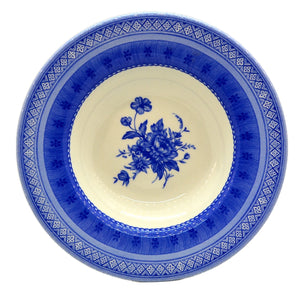 Churchill China Out of the Blue Soup Bowl